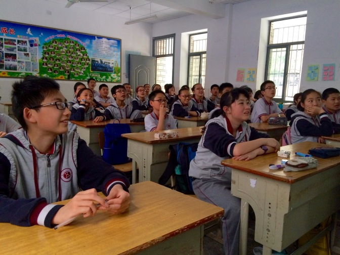 Faces of Nanjing No. 5 High School (3)