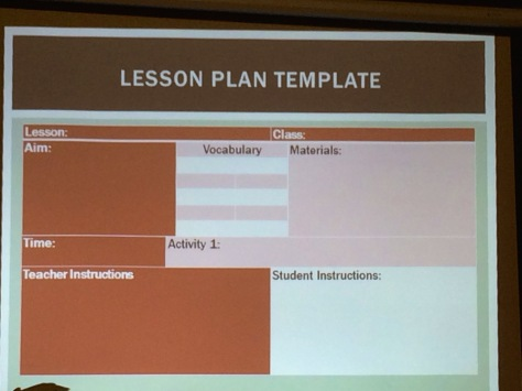 Once you get familiar with it, lesson planning becomes a breeze.